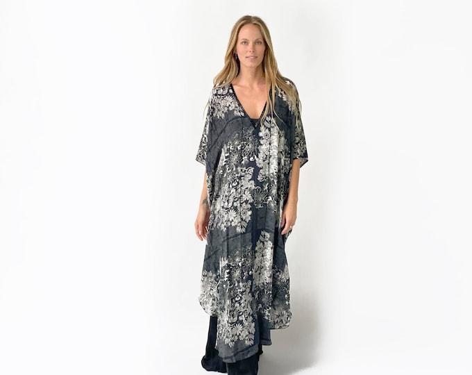 SILVI Silk printed Dress