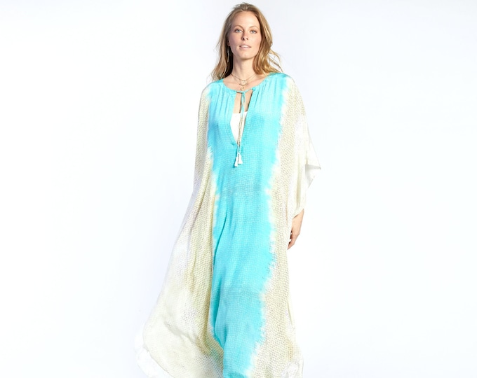NEW COLLECTION silk kaftan