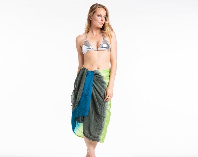 Silk sarong & bag