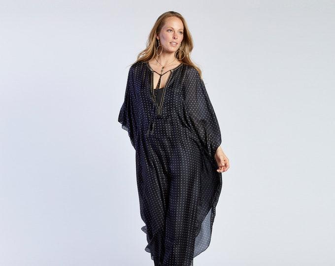 BETH CHARITY Black polka dot Dress