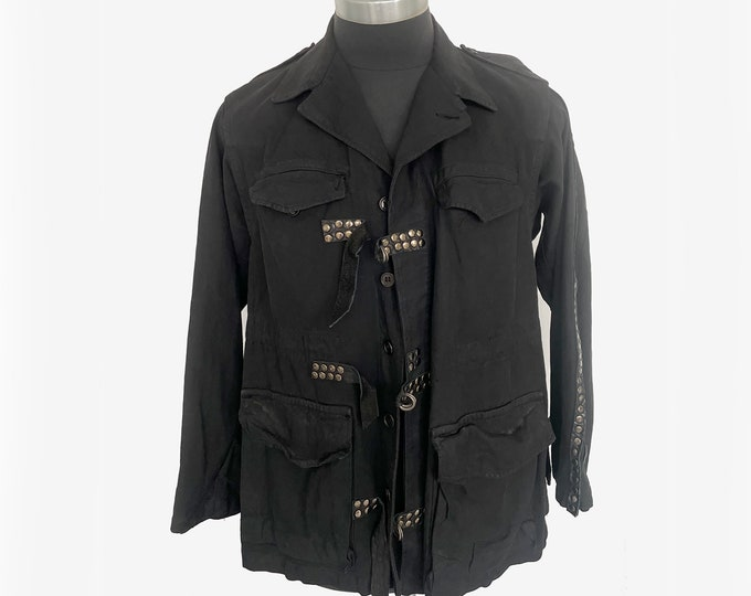 B*+S Couture Army Jacket