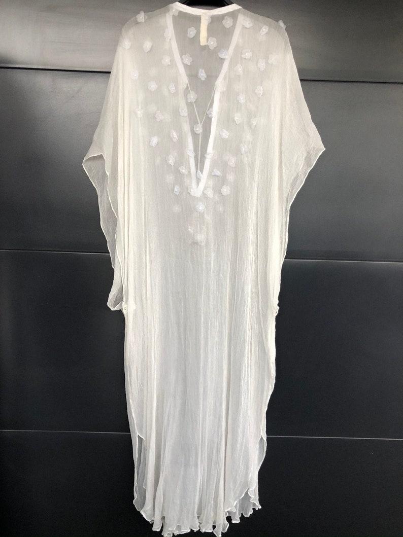 Wedding Dress Silk Caftan