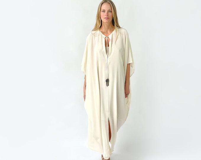 TULUM Silk Caftan