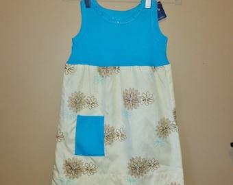 Toddler Pillowcase Dress, Summer Dress, Repurposed dress, Ready to Ship