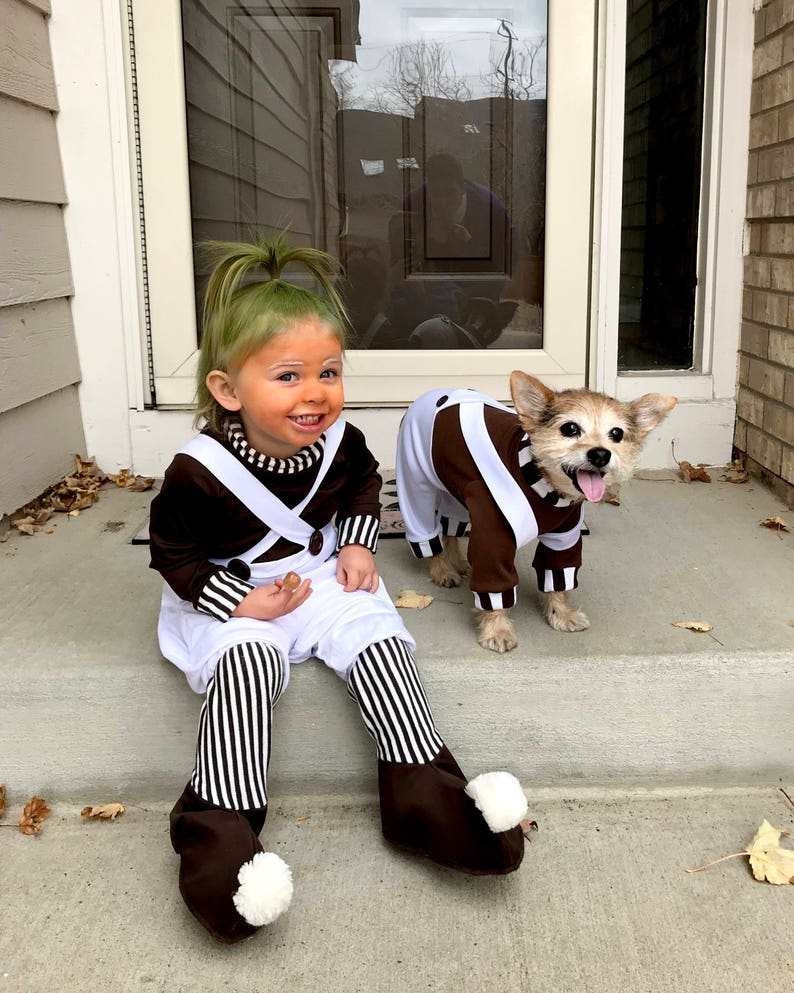 9e89c7c5847 Oompa-Loompa dog costume, Halloween dog costume, Charile & the Chocolate  Factory