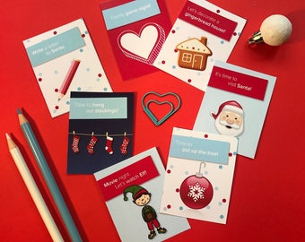 24 Awesome Activity Cards (Advent Calendar Filler)