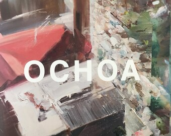 Artist Booklet Daniel Ochoa 2013-2016