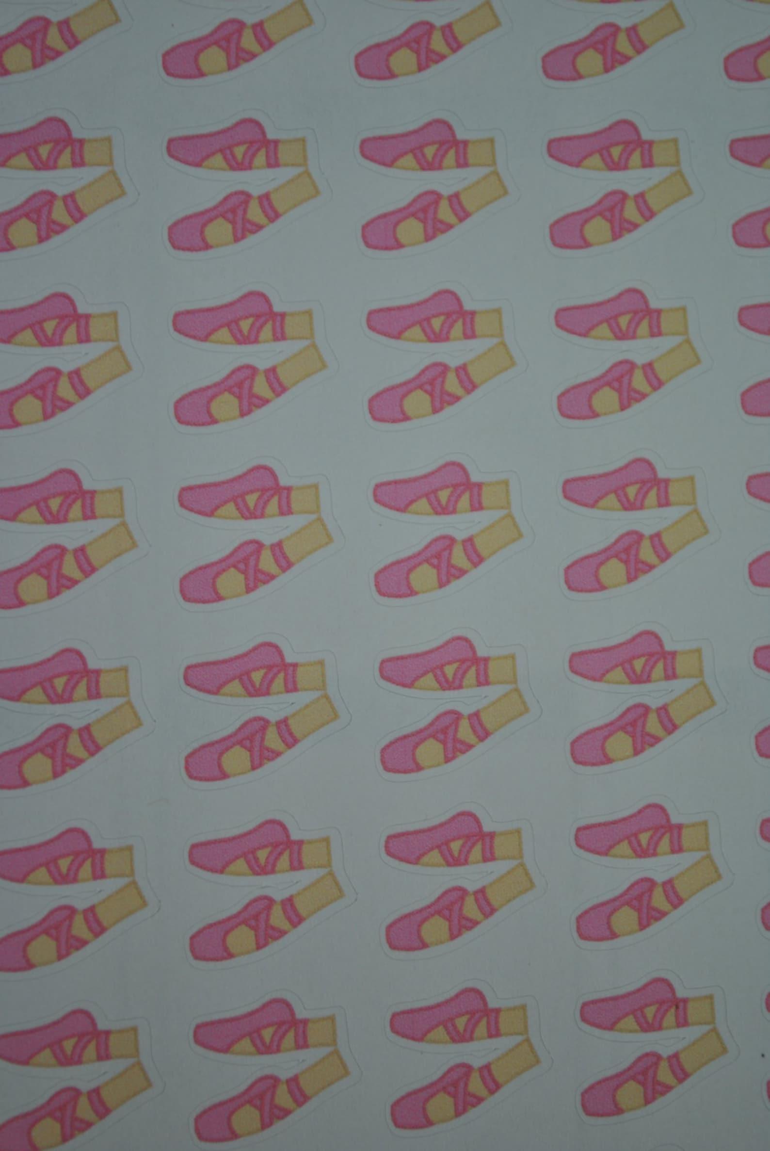 ballerina stickers ballet stickers dance stickers ballet shoe erin condren life planner plum paper planner filofax