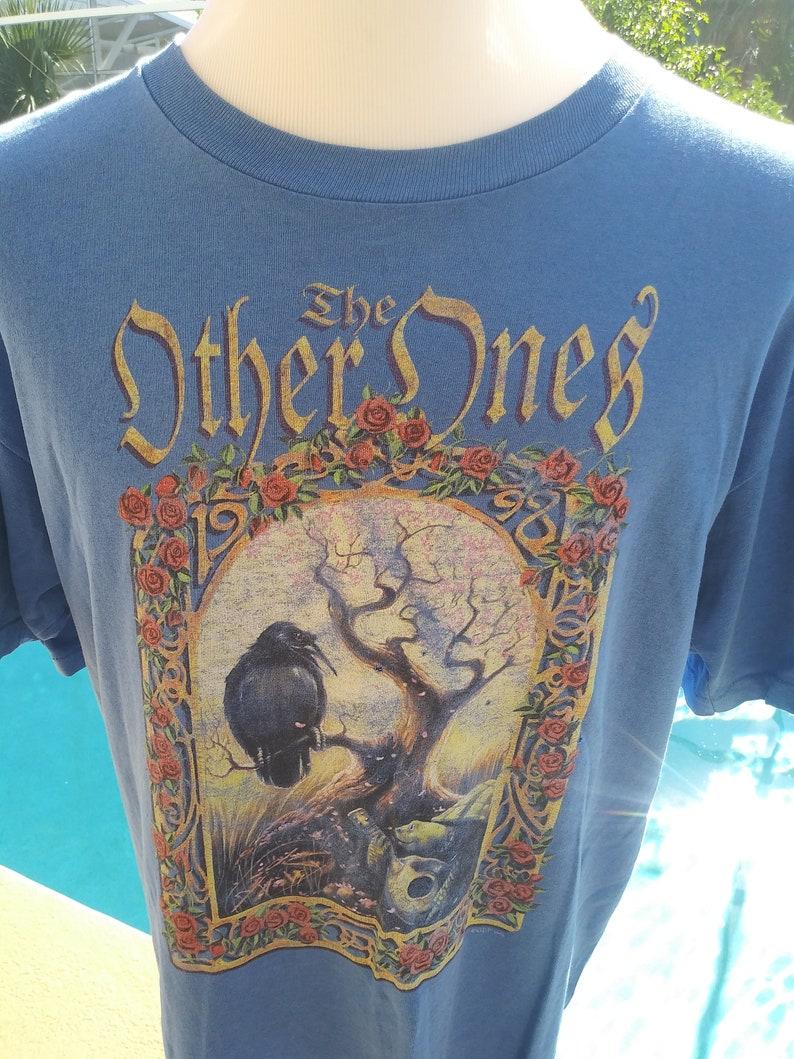 Vintage Grateful Dead T shirt. Jerry Garcia T shirt. Other image 0