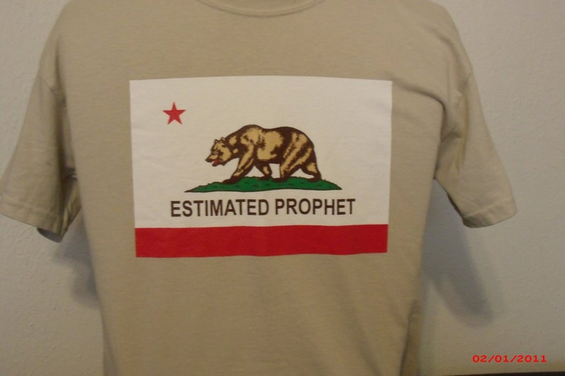Grateful Dead Shirt-Estimated Prophet Shirt-Bob Weir image 0