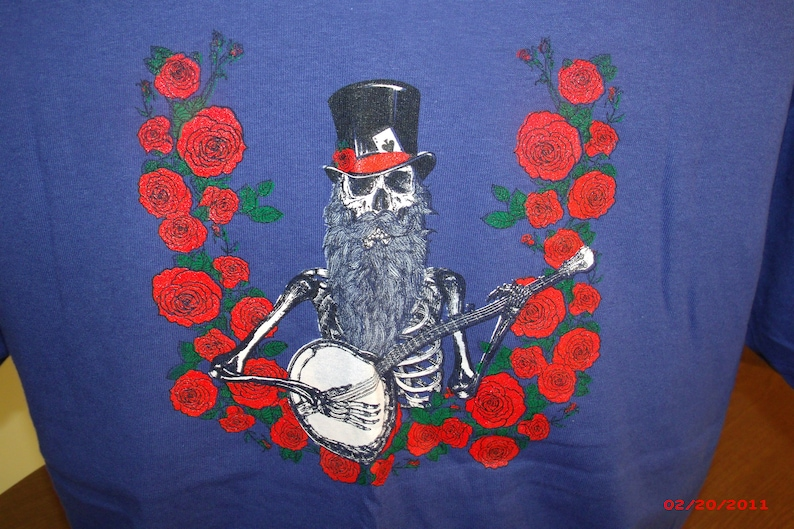 Grateful Dead Shirt-Blue Yodel 9 Shirt-Old and in the Way image 0