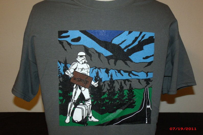Widedpread Panic Shirt-Traveling Man Shirt-Michael Houser image 0