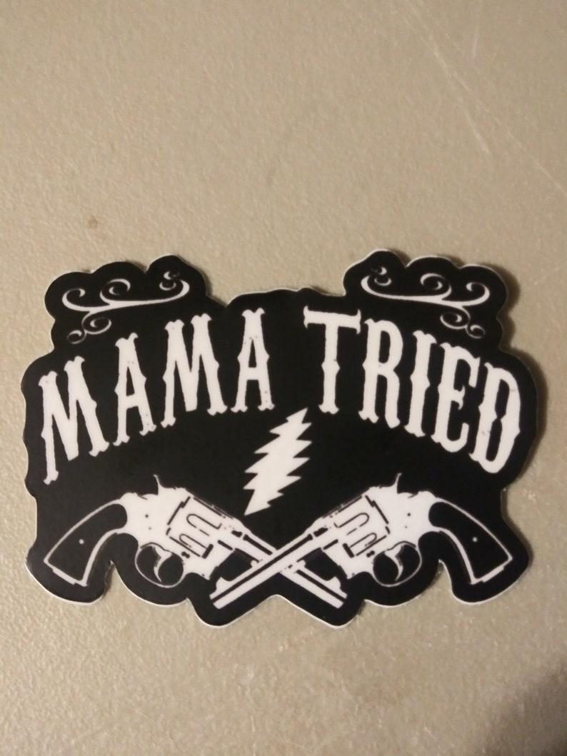 Shakedown Sticker-Merle Haggard Sticker-Jerry Garcia image 0