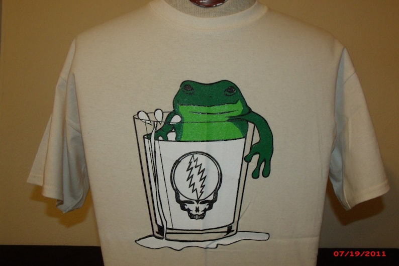 Keller Williams Shirt More Fun than A Frog In A Glass Of Milk image 0