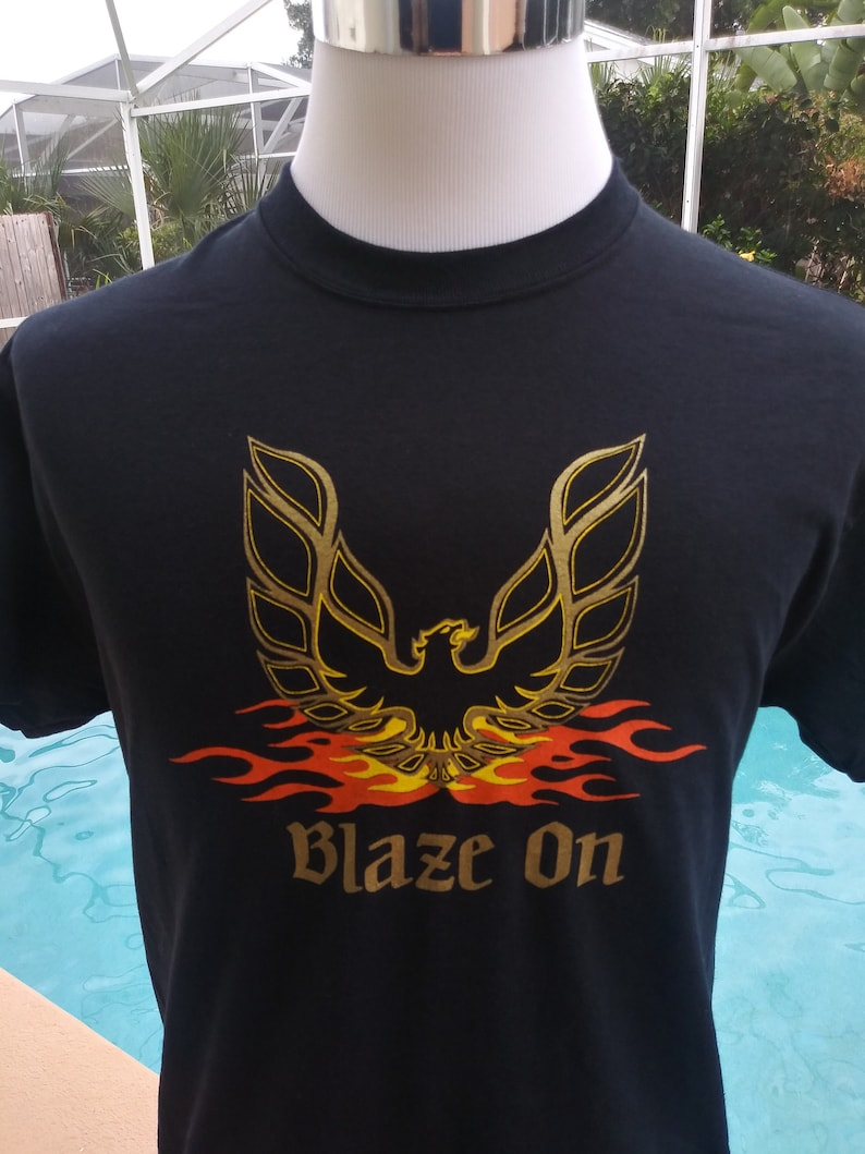 Phish Shirt-Blaze On Shirt-Trey Anastasia Shirt-Page Side Rage image 0