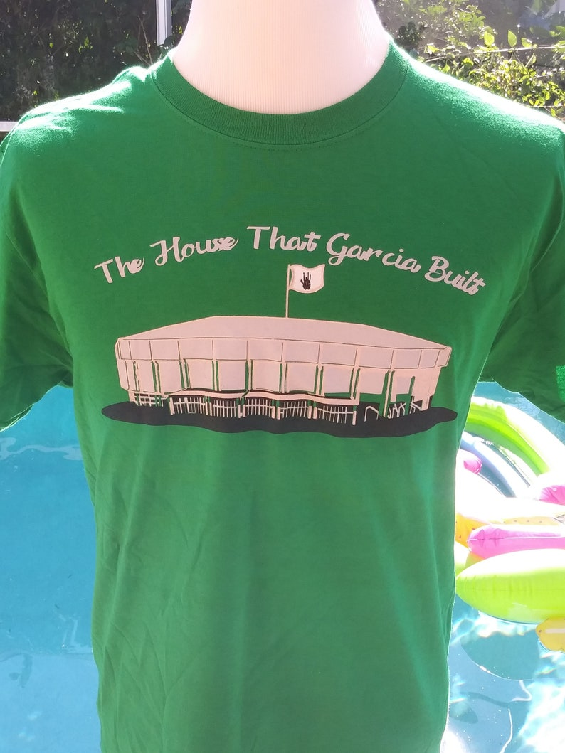 Grateful Dead Shirt. Nassau Coliseum shirt. Jerry Garcia image 0
