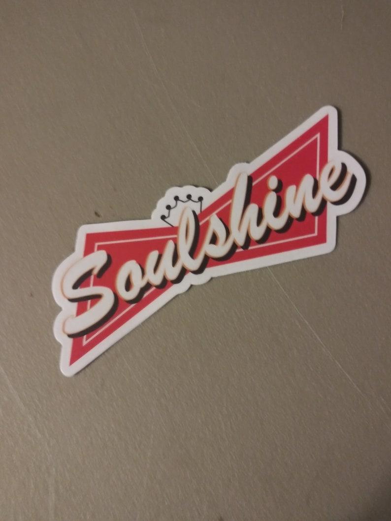 Allman Brothers sticker-Soulshine Sticker-Govt. Mule image 0