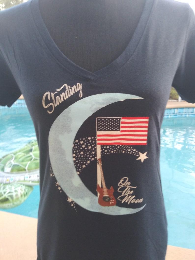 Grateful Dead Shirt-Womens Grateful Dead Shirt-Standing On The image 0
