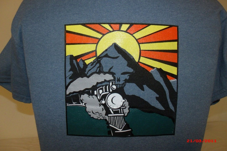 Grateful Dead Shirt-He's Gone Shirt Dead and Company image 0