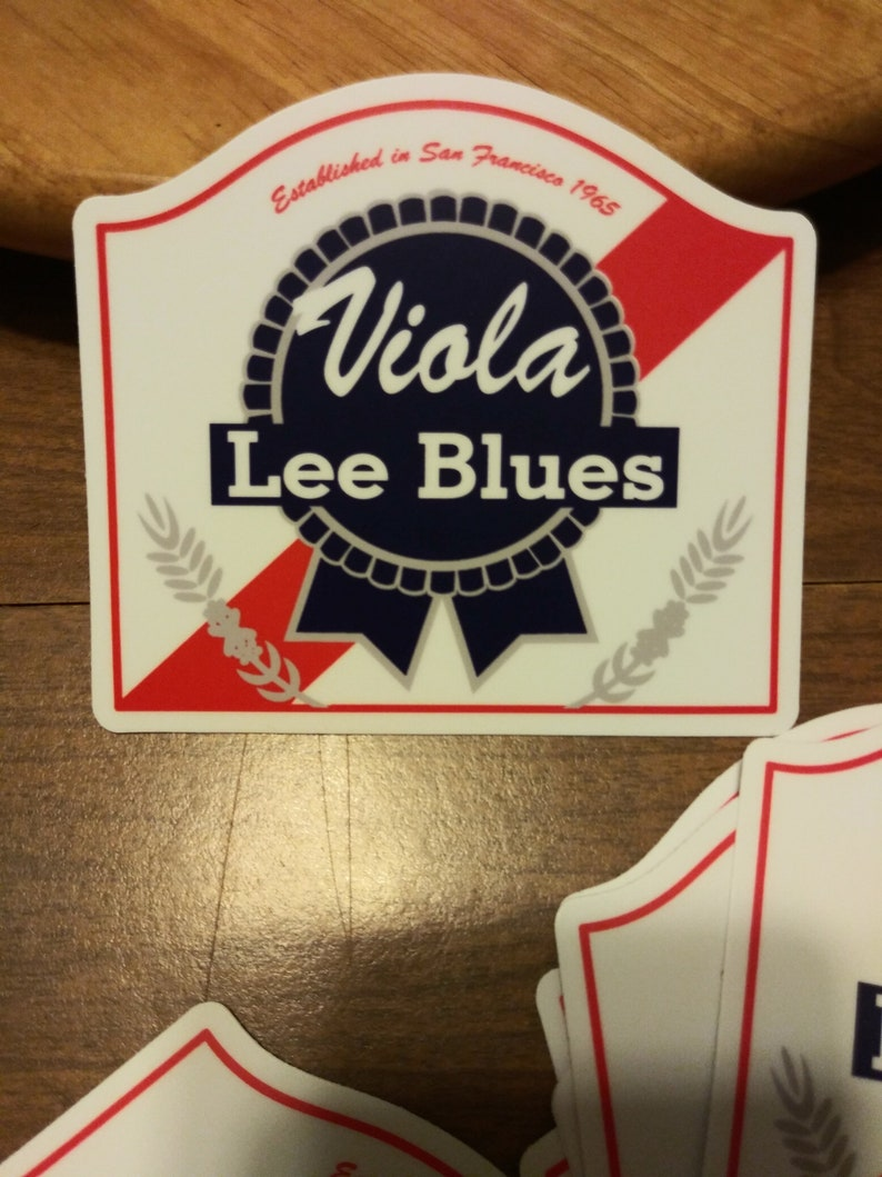Grateful Dead Sticker. Viola Lee Blues Sticker. image 0