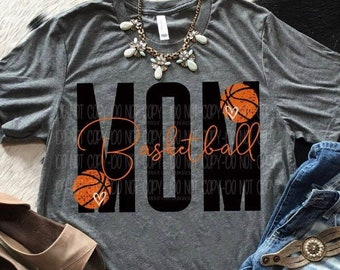 f528372a953 Basketball Mom Triblend T-Shirt   Basketball Shirt   Sports Shirt   Ball  Shirt   Basketball   Basketball Mom