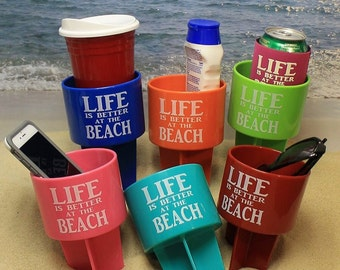 Life is Better at the Beach Sand Spiker