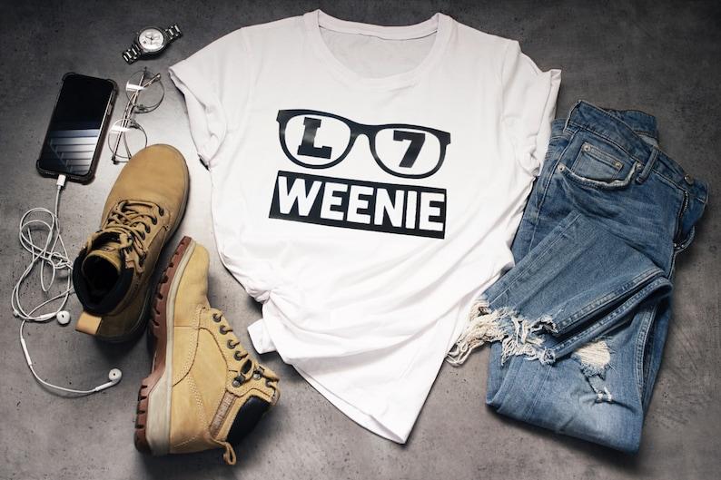 6bc3fa020 L7 Weenie T-shirt Child / Adult Sandlot Inspired Squints | Etsy