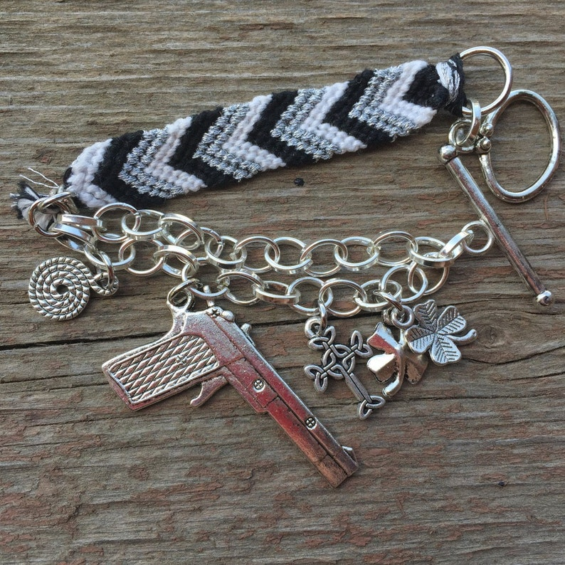 Boondock Saints Inspired Charm Bracelet
