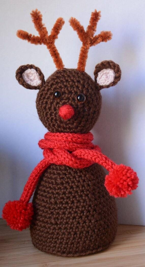 Christmas Reindeer Crochet Pattern   Etsy