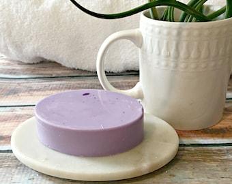 Simple Soap - Minimalist Soap - Stocking Stuffer - Vanilla Lavender Soap - Shea Butter Soap - Purple Soap - Vegan Soap - Homemade Soap