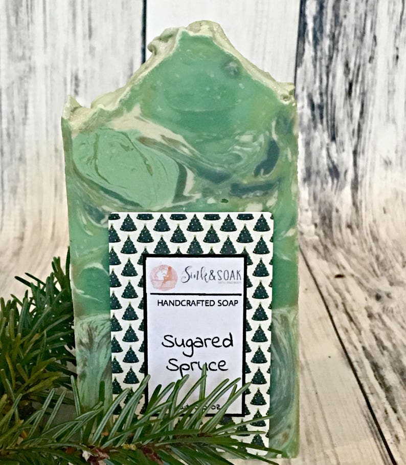 Forest Soap  Sugared Spruce Soap  Homemade Soap  Small Gift image 0