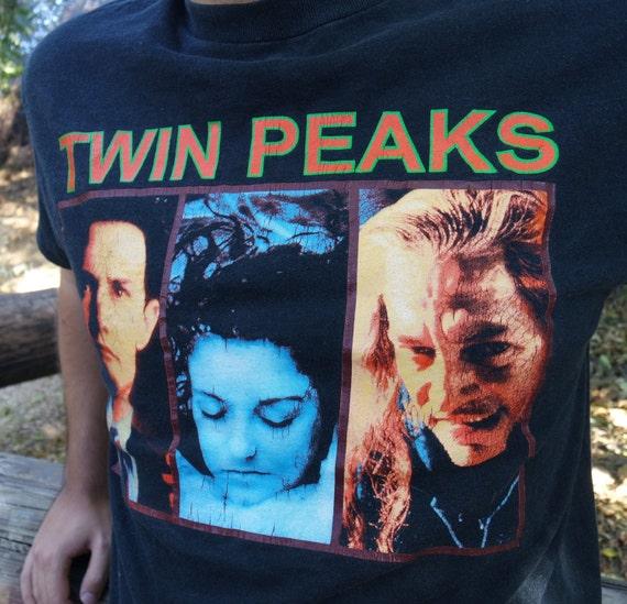 90s Vintage Twin Peaks t-Shirt - image 4