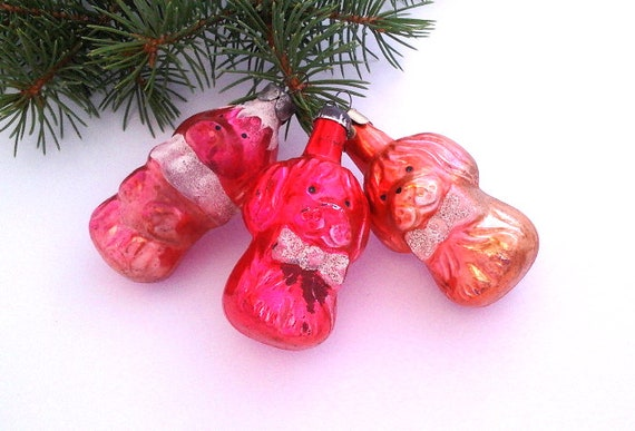 image 0 - Glass Christmas Tree Decorations