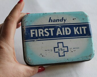 Vintage 'Handy' First Aid Tin