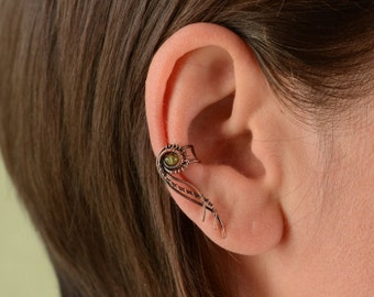 Simple ear cuff * Boho ear cuffs * Ear wrap * ear cuff no piercing * Minimalist ear cuff * Cartilage earring * Tribal jewelry * Earcuff