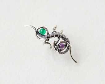 Silver ear cuff no piecing, Everyday ear wrap earrings, Summer cuffs non pierced, Simple fake earcuff, Bridal boho jewelry, Cartilage cuffs