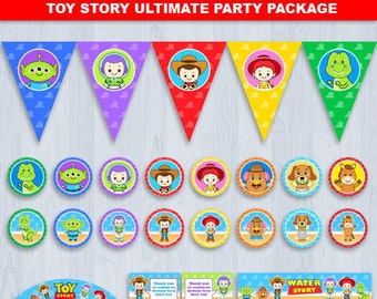 Toy Story Party Decorations, Toy Story Party, Toy Story Decoration, Toy Story Party Package, Toy Story 1st birthday, Toy Story Party Supply