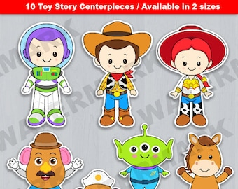 Toy Story Centerpiece, Toy Story Table Centerpiece, Toy Story Cake Topper, Toy Story decoration, Toy story party decoration