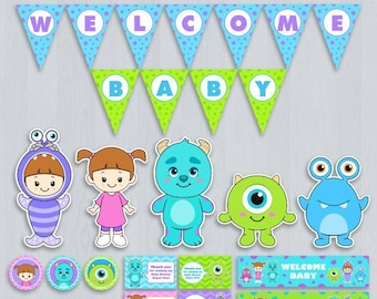 Monsters Inc Baby Etsy