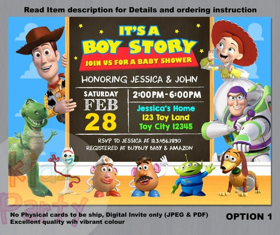 It/'s a Boy Story Baby Shower Yard Sign-Toy Story Yard Sign-Toy Story Baby Shower-Yard Sign-Baby Shower-It/'s a Boy-Its a Boy Story Chip Bag