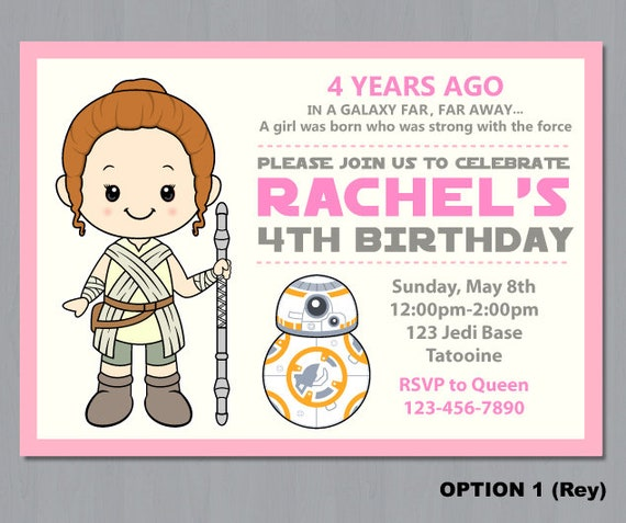 graphic relating to Star Wars Birthday Invitations Printable called Female Star Wars invitation, Star Wars woman invitation, Star Wars invitation, Star Wars, Star Wars Birthday Invitation, Electronic Report