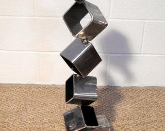 metal sculpture etsy