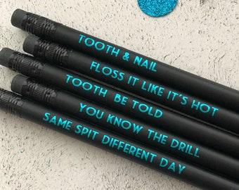 Pencil Case Set Keep Calm Im a Dentist School Messenger Bag