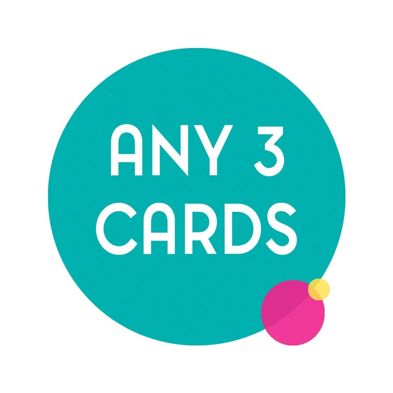 Choose any 3 funny greeting cards. Any 3 cards funny cards image 0