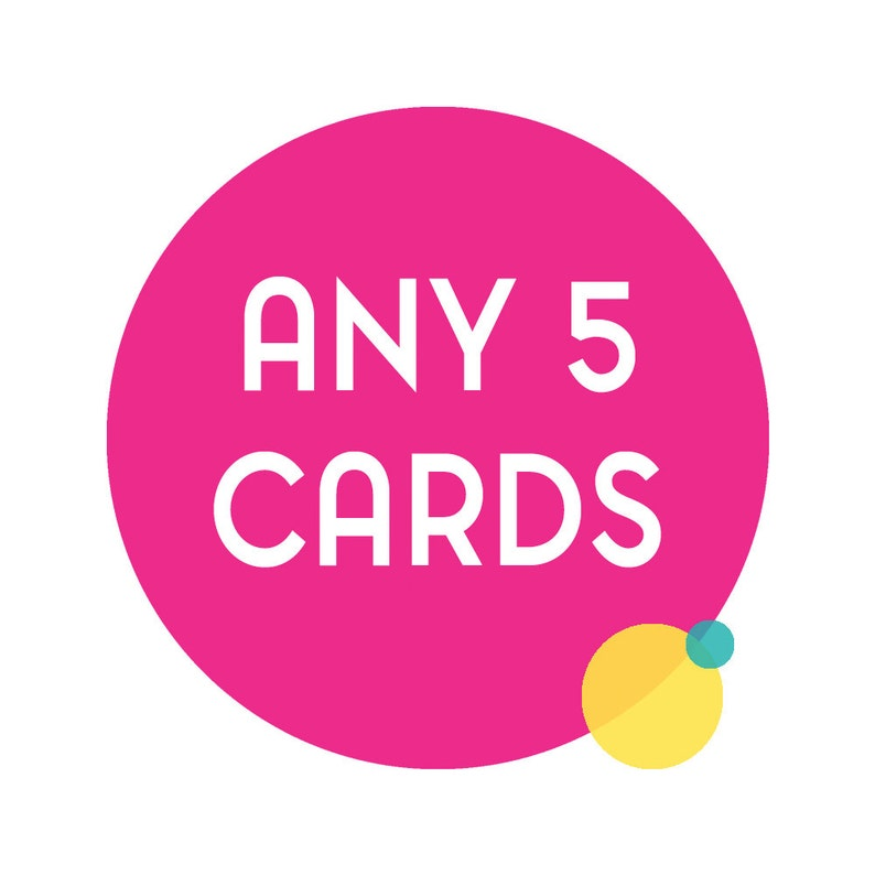 Choose any 5 funny greeting cards. Any 5 cards funny cards image 0