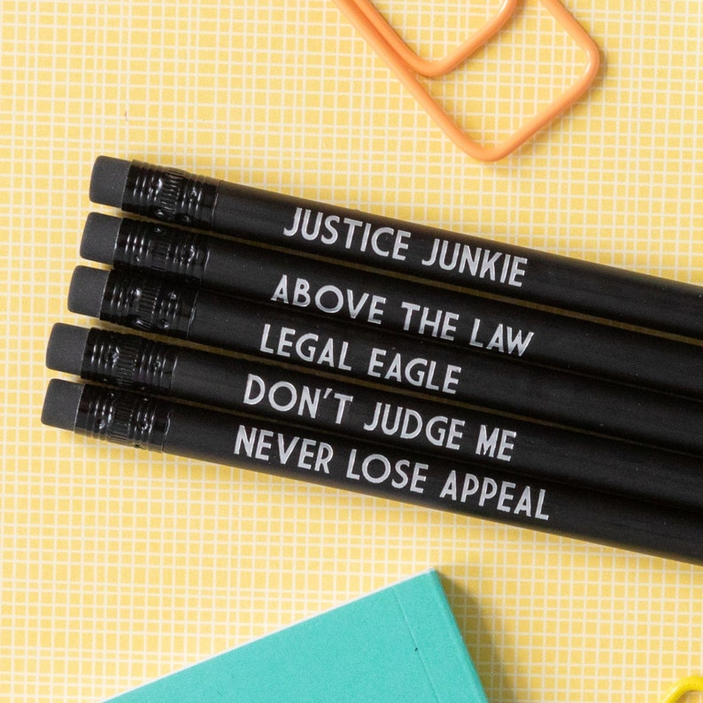 Lawyer Pencil Set  Above the Law image 0
