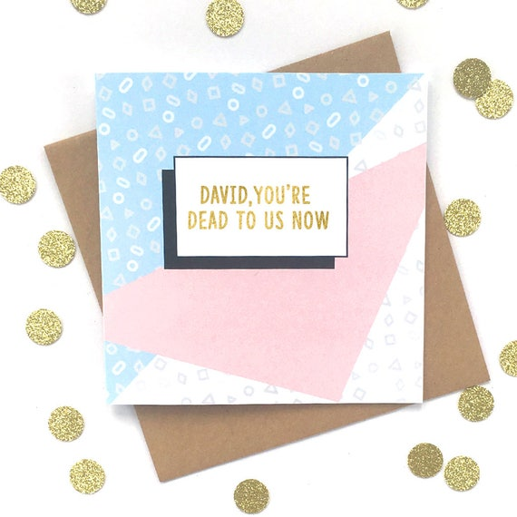 funny farewell card funny new job card personalised