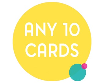 Choose any 10 funny greeting cards. Any 10 cards, funny cards, funny greeting cards, funny birthday cards