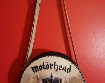 Motorhead Vinyl Record Purse