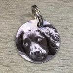 Round Aluminium Dog ID Tag